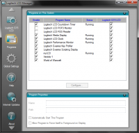|Logitech LCD Manager